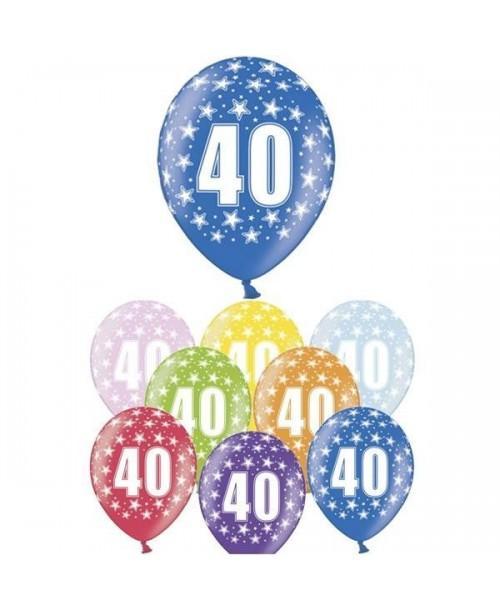 """Globos """"40 aniversario"""""""