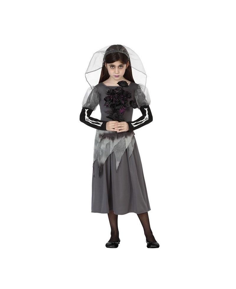 Disfraz de Novia Cadaver Niña