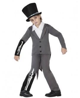 Disfraz de Novio Cadaver Zombie NIño