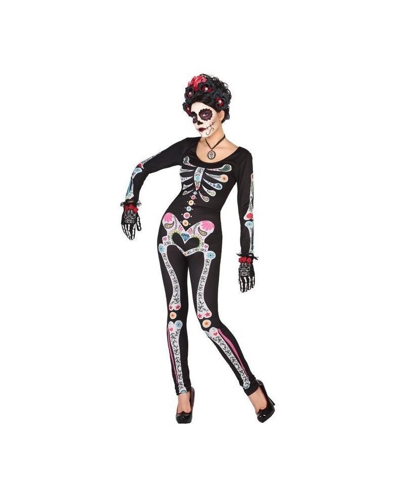 Disfraz de Esqueleto Adulto