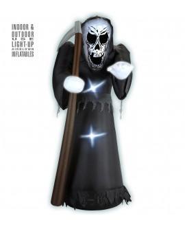 Muñeco Hinchable Luminoso Grim Reaper