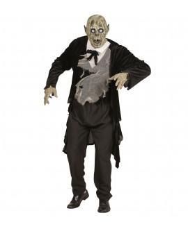 Máscara Cabeza Completa Novio Zombie