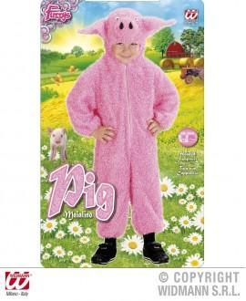 Disfraz de Cerdito Fuzzy