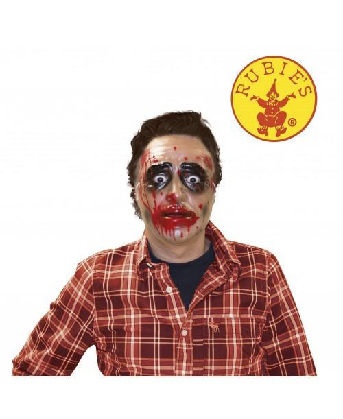 Máscara Transparente Hombre Zombie