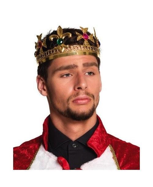 Corona de Rey Metalizada