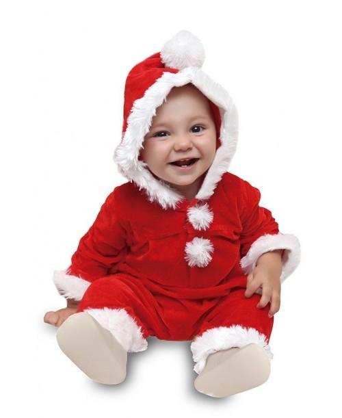 Traje Papa Noel Bebé