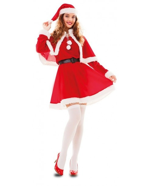 Disfraz de Mama Noel Adulto