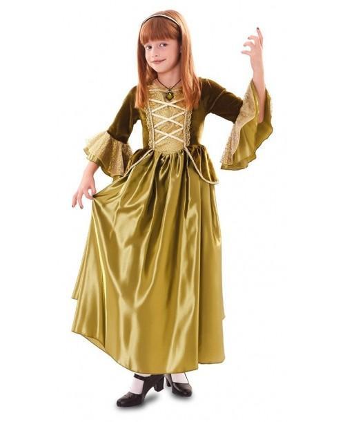 Disfraz de Princesa Verde