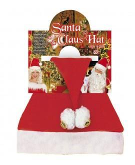 Gorro Papa Noel con Campanas