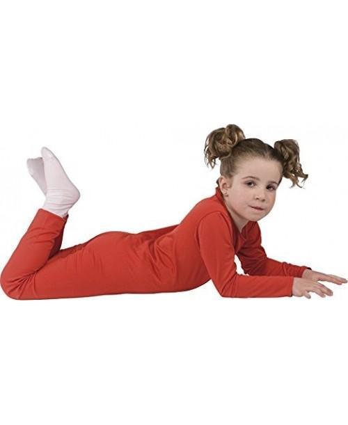 Disfraz Mono Elástico Rojo Infantil