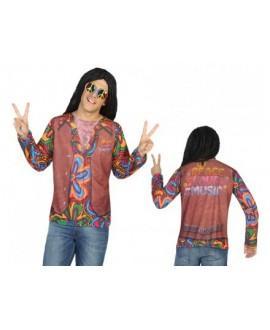Camiseta Disfraz de Hippie