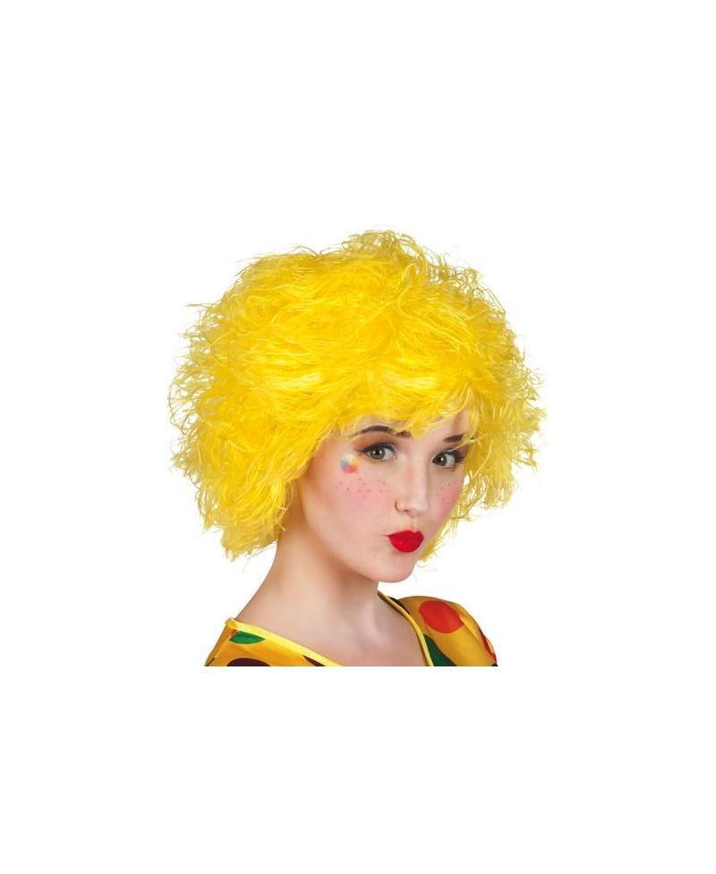 Peluca Amarilla Frizzy