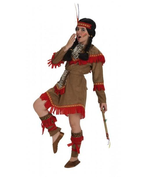 Disfraz de india Lujo
