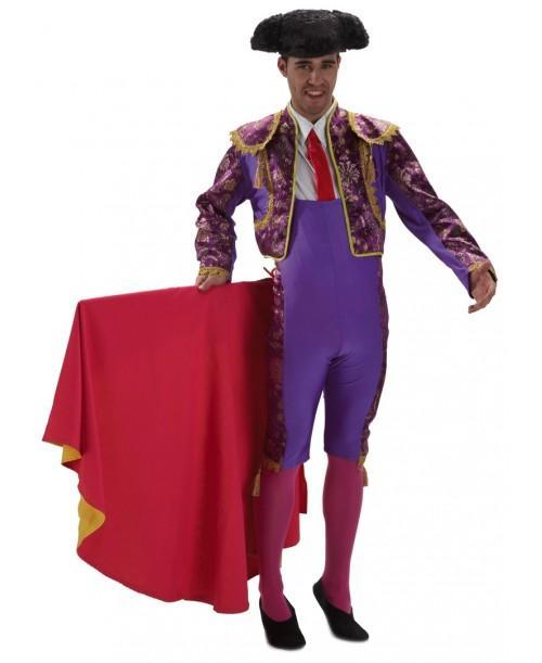 Disfraz de Torero Morado