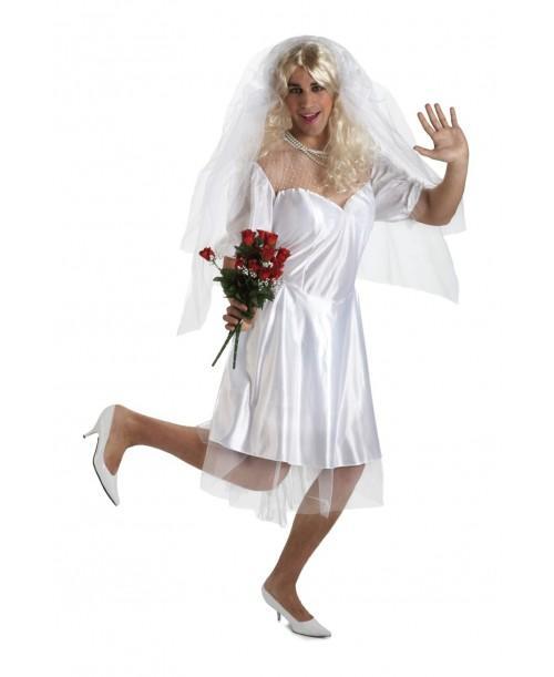 Disfraz de Novia Sexy Adulto