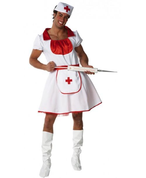 Disfraz de Enfermera para Hombre