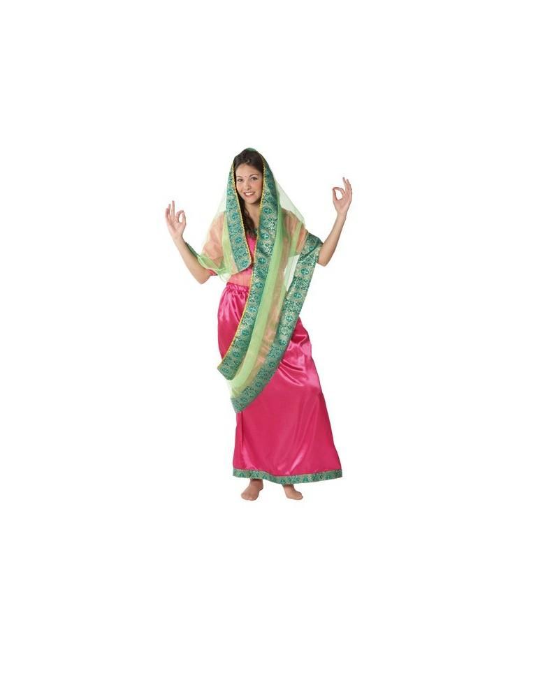 Disfraz de Mujer Hindú