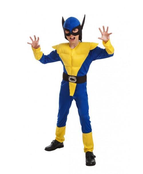 Disfraz de Lobo Amarillo Infantil
