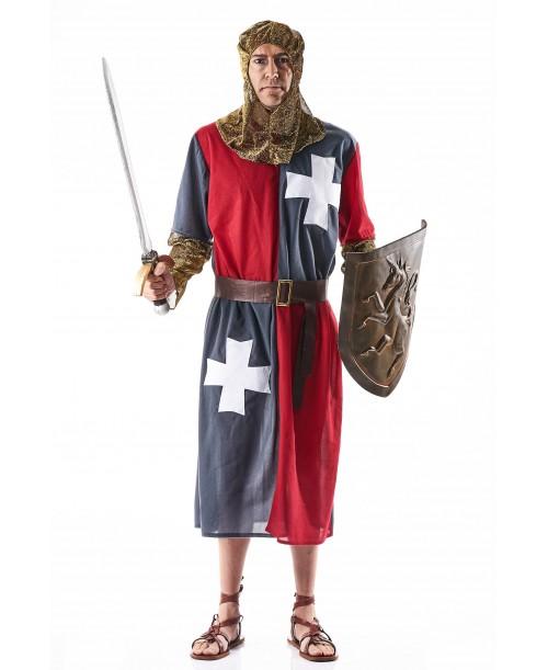 Disfraz Medieval Gris para Adulto