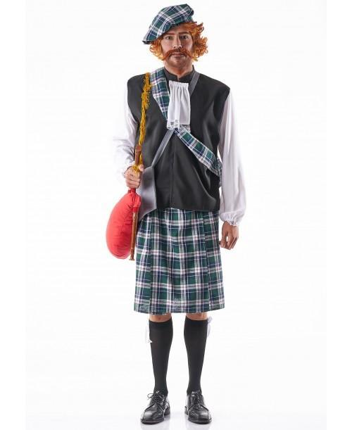 Disfraz de Escoces para Adulto