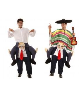 Disfraz Hombre de Negocios a Hombros