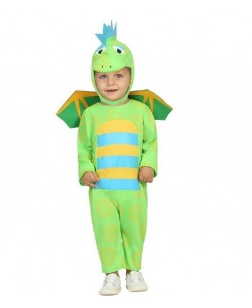 Disfraz de Dragón Verde