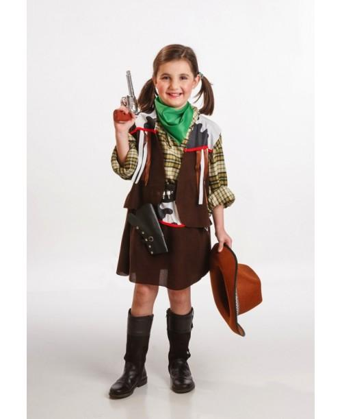 Disfraz de Vaquera Infantil