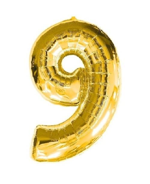 Globo Número 9 Foil