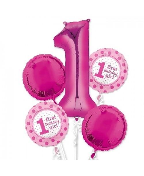 Bouquet Globos Foil 1 Aniversario