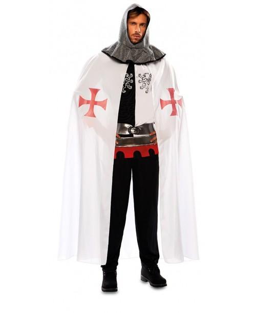 Capa Medieval Blanca