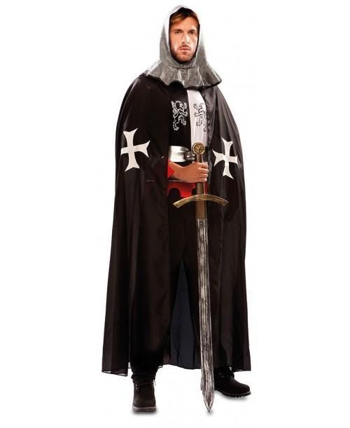 Capa Medieval Negra