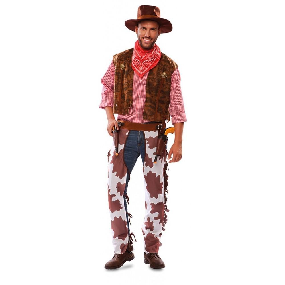 293632289219c Disfraz de Vaquero Oeste para Adultos