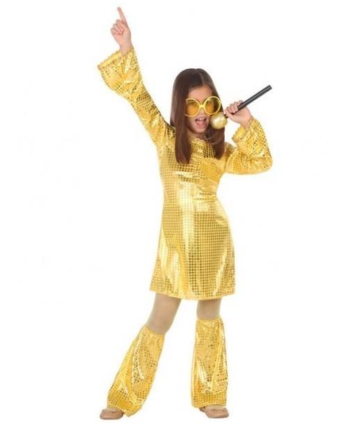 Disfraz Disco Dorado