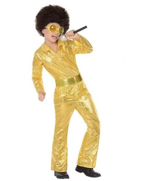 Disfraz de Disco Dorado