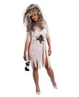 Disfraz de Novia Cadaver Adulto