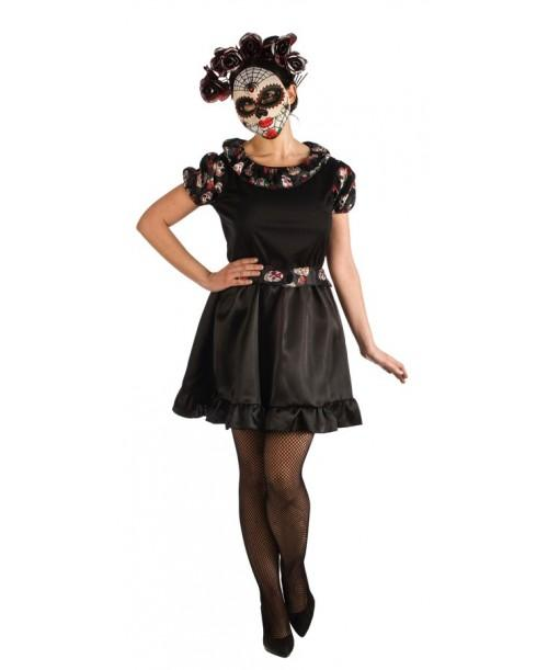 Disfraz de Catrina