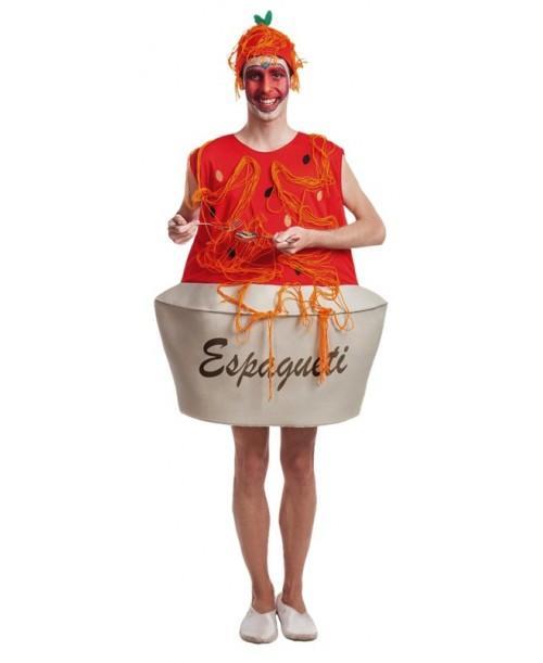 Disfraz de Plato Espaguetis