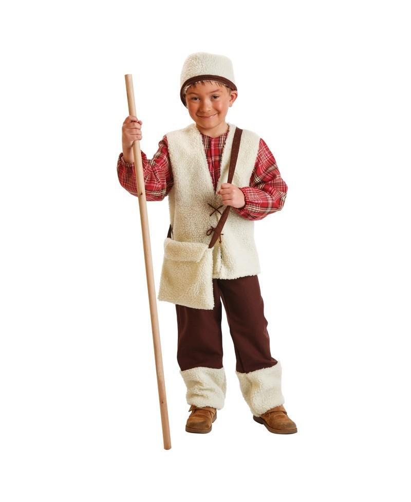 Disfraz De Pastor Para Niños Ideal Para De Navidad Y Carnaval