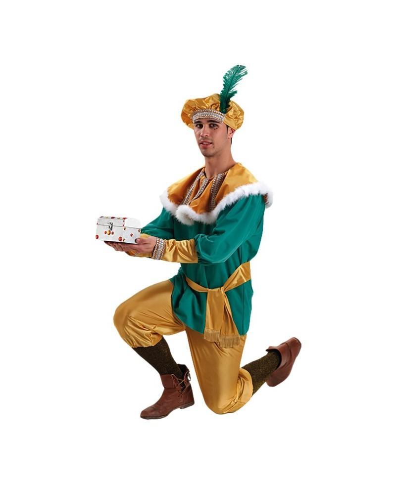 Disfraz de Paje del Rey Melchor Extra
