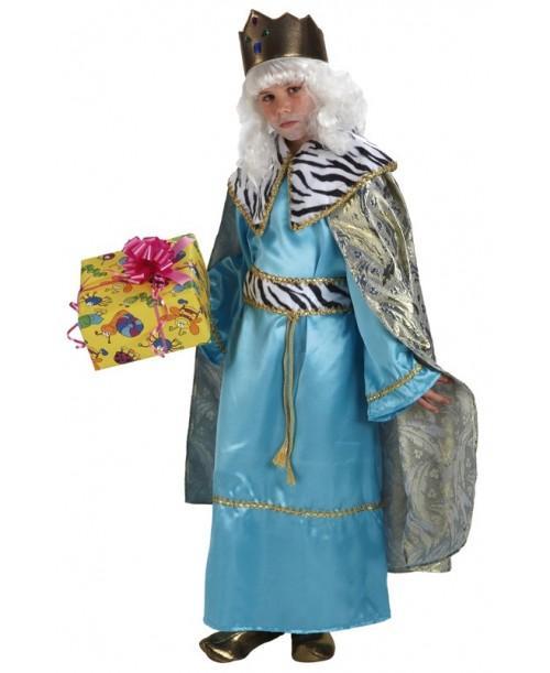 Disfraz de Rey Melchor Lujo Infantil