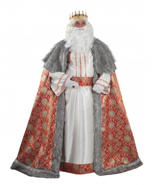 Disfraz de Rey Melchor Lujo
