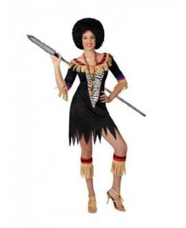 Disfraz de Zulú Sexy