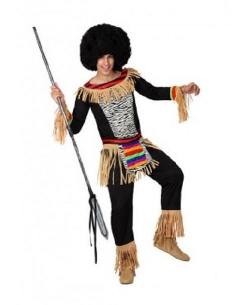 Disfraz de Zulú