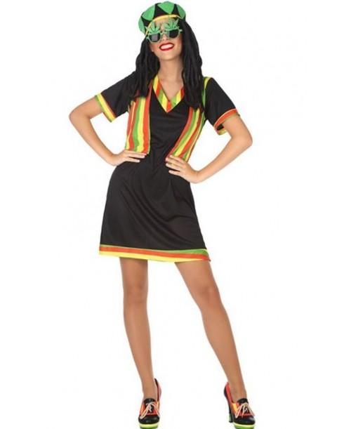 Disfraz de Jamaicana