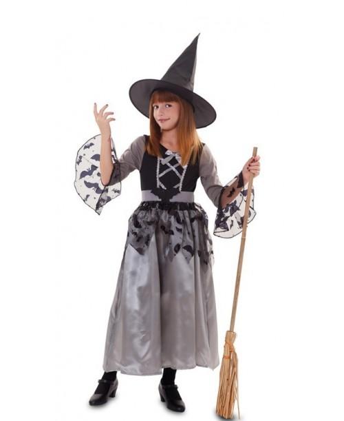 Disfraz de Bruja Gris