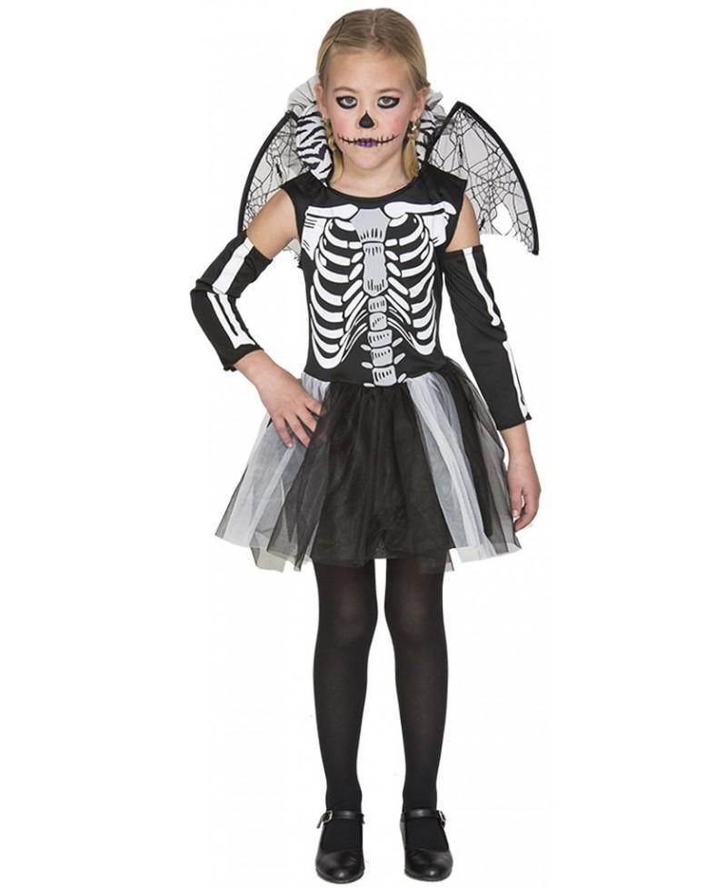 Disfraz de Esqueleto Niña