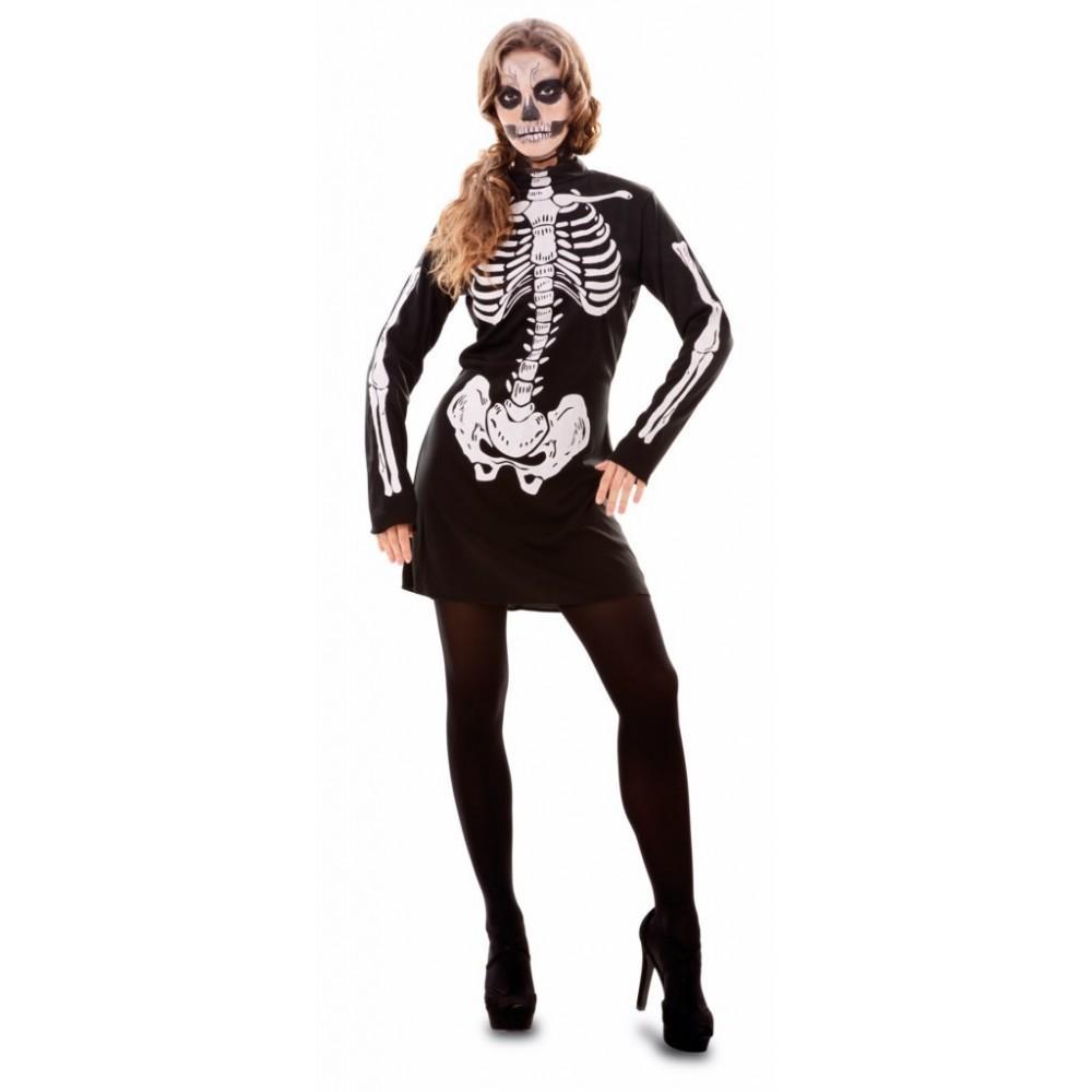 Disfraz Esqueleto Mujer  Disfraz Esqueleto Mujer 03dbe844658