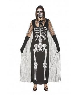 Disfraz Esqueleto con Capa