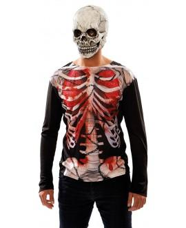 Camisa Esqueleto Zombi