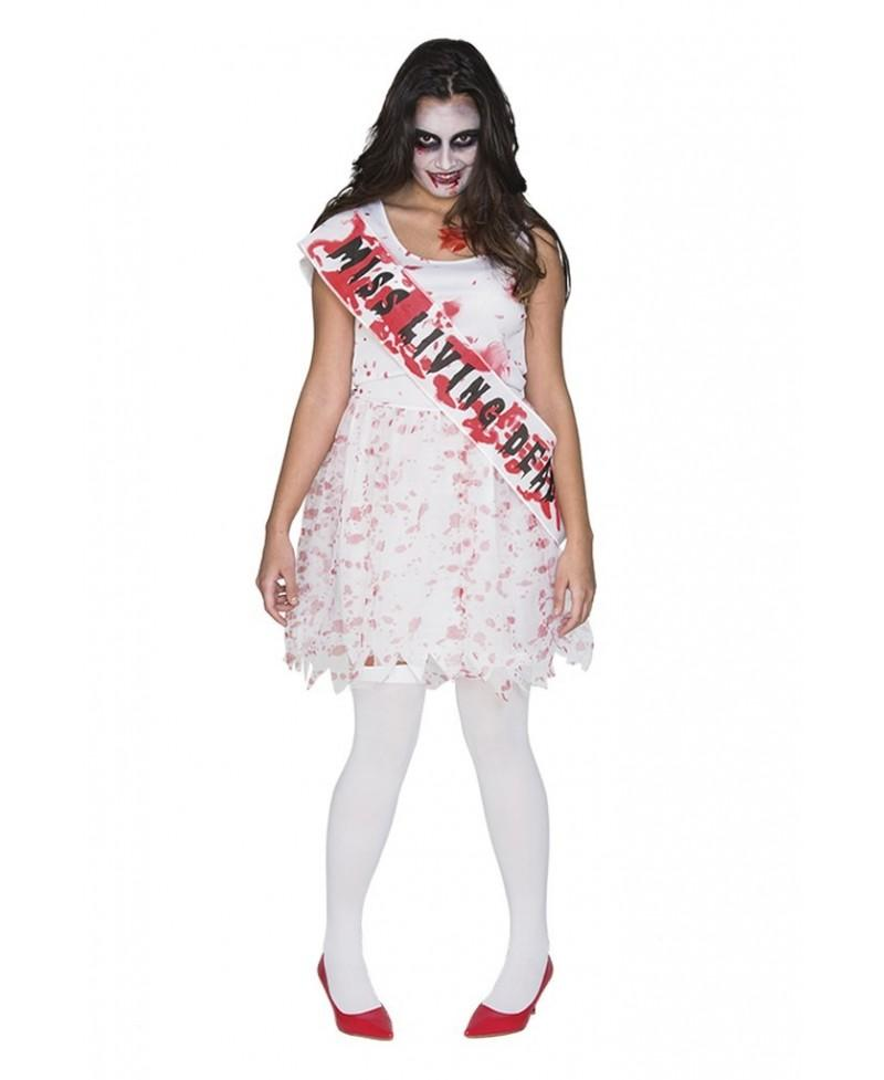 Disfraz de Miss Instituto Zombie
